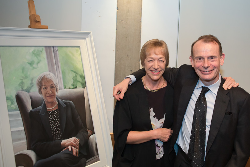 Jackie Ashley & Andrew Marr, Lucy Cavendish College