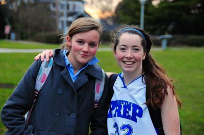 Monica: basketball and exchange student 2-6-09