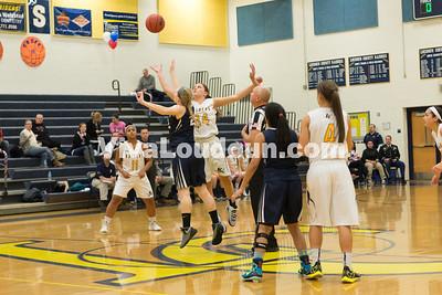 Girls Basketball: John Champe vs. Loudoun County 1.19.16 (by Chas Sumser)