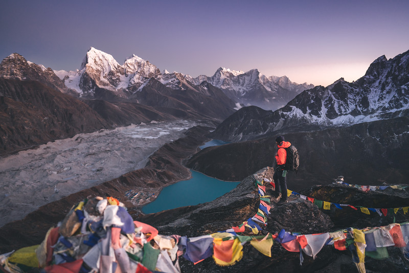Three Passes Trek, Everest Region of Himalaya, Nepal