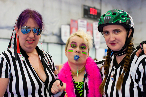 """june 30th 2007 - dc rollergirls: """"red, white & bruised"""""""