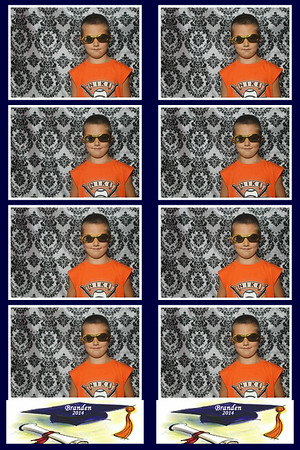 Branden Graduation Party-PHOTO BOOTH