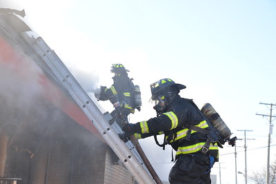 Dearborn - Schaefer road- Commercial Building fire