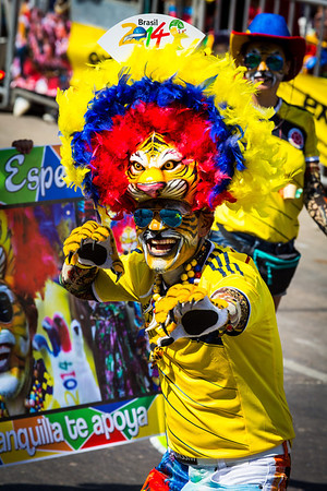 Colombia: Carnival de Barranquilla 2014