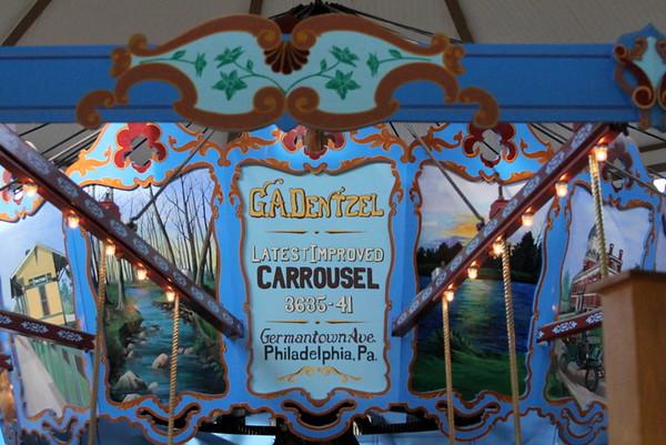 Dentzel Carousel Visit 2016