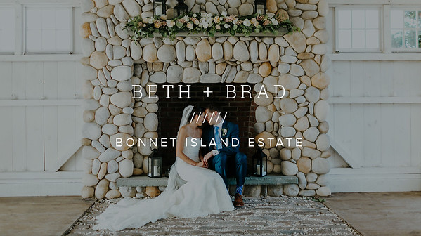 BETH + BRAD ////// BONNET ISLAND ESTATE