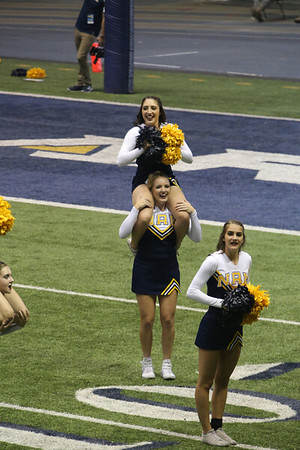 2018-19 NAU (26) vs EWU (31) CHEER