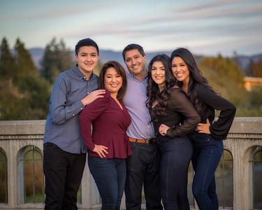 Sanchez Family - Downtown Napa walk