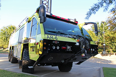 Houston Fire Department/ George Bush Intercontinental Airport new deliveries from Rosenbauer