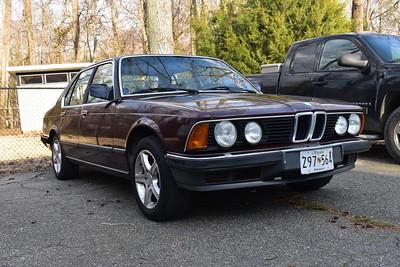 1985 BMW 735i