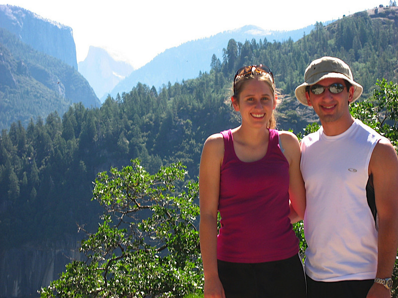 Me and Katy in front of the valley.