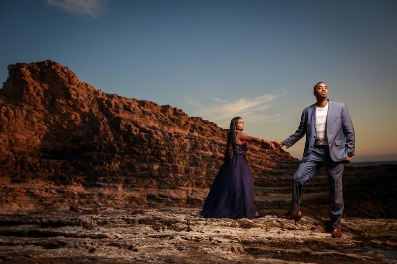 Jamar and Joyce Engagement shoot