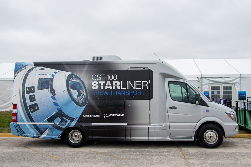 Astrovan II will transport astronauts to the pad for Starliner missions