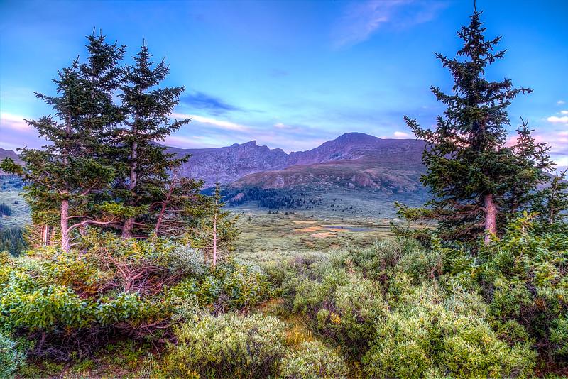 Mount Bierstadt Summer Evening