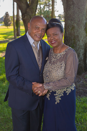 Veronica and Renel 50th Wedding Anniversary
