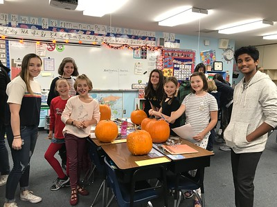 LS-US 3rd Pumpkin Math with US Students 10-31-18