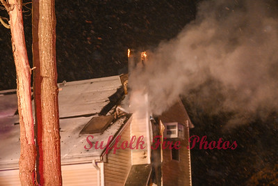 Dwelling Fire - Grand Ave, Shirley, NY  - 2/19/21