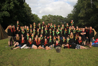 Summer Camp at Tolmers 2017 - scouts