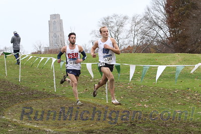 Men at 7400m - 2018 NCAA D2 XC National Championships