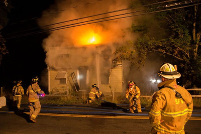 Vacant Structure Fire - Beacon Valley Rd, Beacon Falls - 8/30/2016