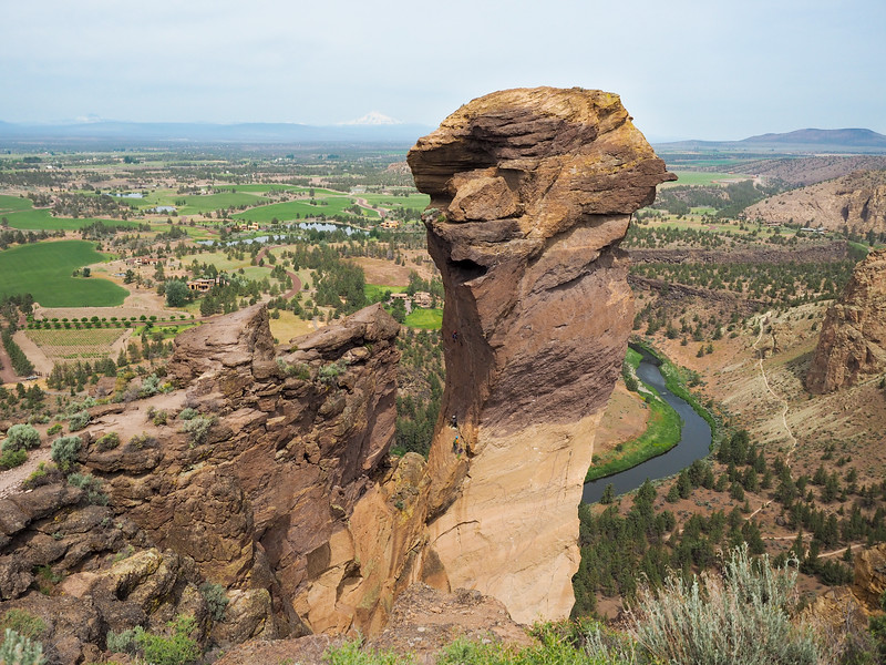 Monkey Face at Smith Rock State Park in Oregon
