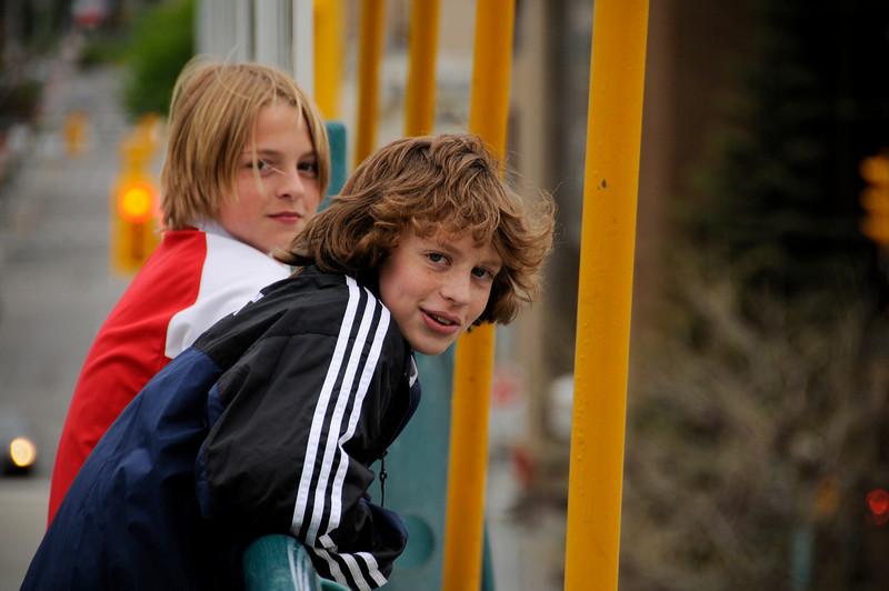 Jaiden, Travis and Kiana