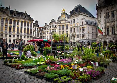 Brussels and Bruge