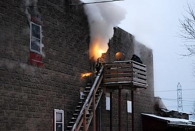 01-12-09 Conesville FD Structure Fire