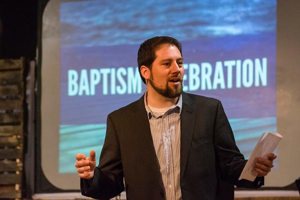 Easter Baptism at Bridge Community Church