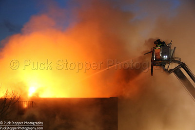 5th Alarm Apt Building Fire - 56-11 94th St, Queens, NY - 4/11/17
