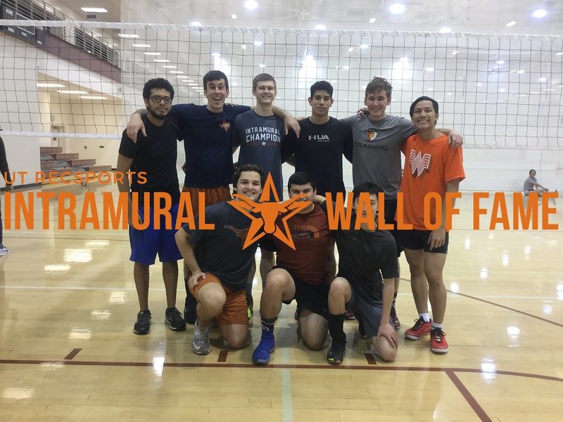 Spring 2018 Volleyball Men's Champion I'm so sick of IMs