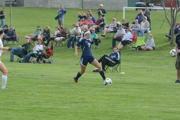 Varsity Girls Soccer vs Pius @ Districts