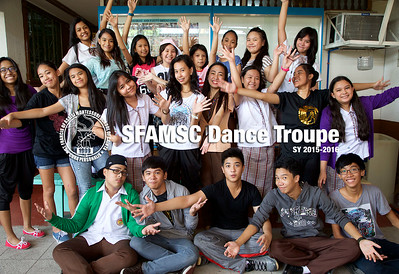 SFAMSC Student Clubs SY 2014-2015