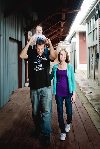 The Markley family