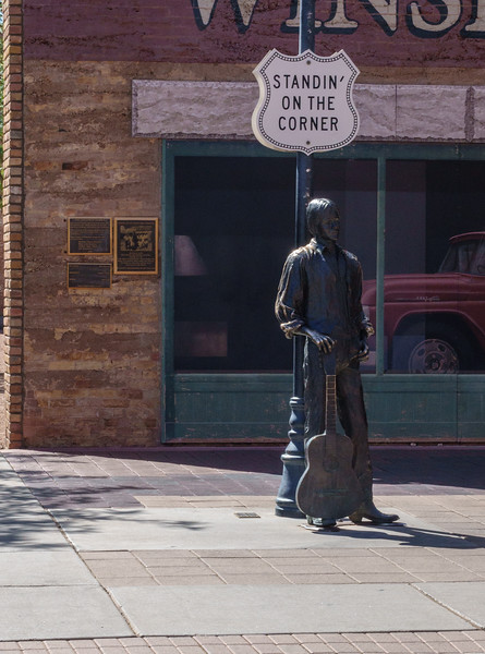 Standin' On The Corner in Winslow Arizona