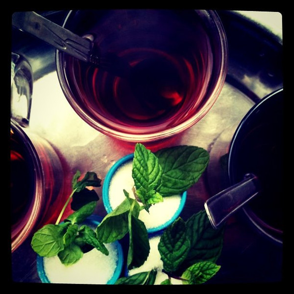 Cup of tea #647 in 10 days in Jordan