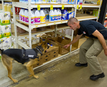 Narcotics Dog Training