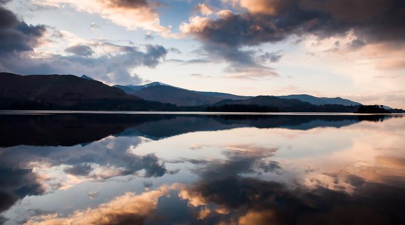 Catbells reflections in Derwent Water