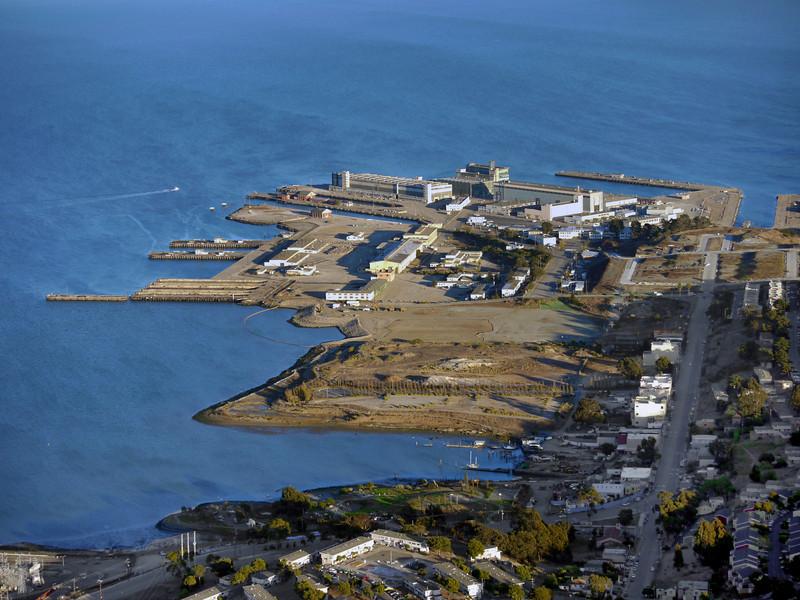 Hunter's Point Naval Shipyard, San Francisco.