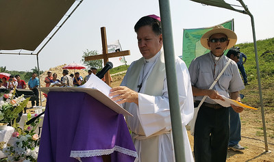 Mass on the Border, Belize and Guatemala