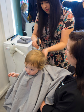 Malcolm's First Haircut