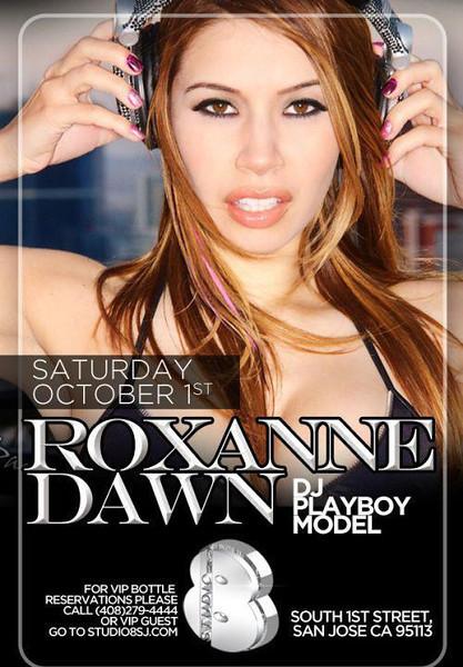10/1 [DJ Roxanne Dawn@Studio 8]