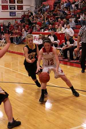 Girls Varsity Basketball - 2010-2011 - 12/10/2010 Tri-County