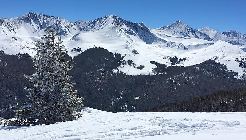 Gore Range Peaks at Copper