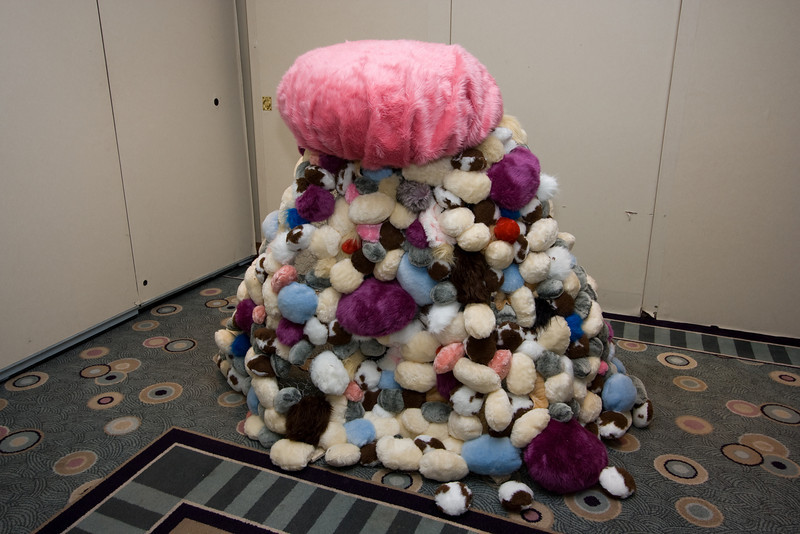 Massive pile of tribbles!