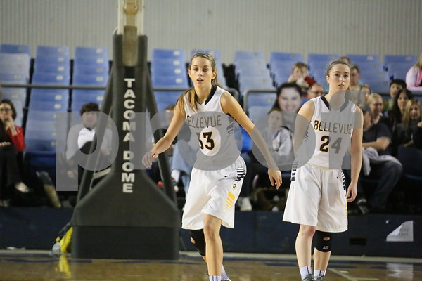 2014-03-07 Bellevue Girls Basketball