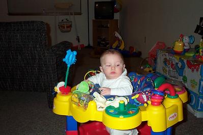 Zach -- 5 months -- February 2002