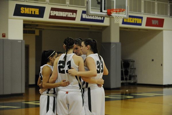 BABSON WOMEN'S BASKETBALL 1.6.2011