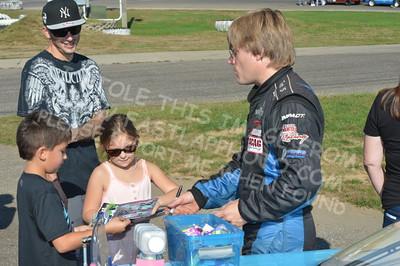 Autograph Session, Fans, & Sponsor Displays