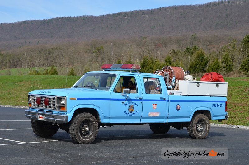 Mifflin County Forest Firefighters Brush 21-1: 1983 Ford F-350 PP/175